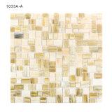 Strati all'ingrosso di vetro delle mattonelle di mosaico del Brown del materiale da costruzione