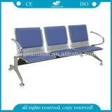 PU 덮개 3 시트 금속 프레임 공항 기다리는 의자를 가진 AG Twc002