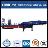 Cimc半製造のアルジェリアのための低いベッドのトレーラー