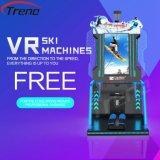 Machine de cinéma de ski de Zhuoyuan 9d Vr, simulateur de ski de casque de Vr