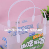 Professional Factory Supply Plastic Frosted PP Handle Bags for Food Package (sacs à poignées)