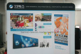 Стойка выставки ткани напряжения портативная, стойка индикации, торговая выставка (KM-BSZ21)