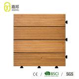 DIYの固体もみの屋外のための木製の橋床のタイル