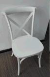 Stapelbarer Kreuz-Rückseiten-Stuhl für Ereignis-Gebrauch