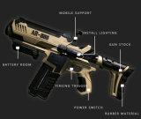 Пистолет Bluetooth Ar фактически регулятора игры стрельба пластичный дает полный газ