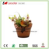 Best-Seller Polyresin Bird Garden Flowerpots para decoração de casa