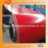 Gewölbte ring Hight Qualitätschina-Farbe überzogenes PPGI des Dach-Material-PPGI Farbe beschichtete Stahlfür Gebäude