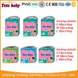 Migliore esportatore sonnolento di vendita dei fornitori del pannolino del bambino di figura di T in Cina
