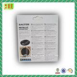 Caixa de papel ondulada do estilo de Hangcard com impressão de Custome