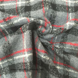 Las existencias/alistan la tela de las lanas de la verificación para el sobretodo