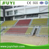 Jy-706 Indoor Gym Bleacher Telescopic Collapsing Bleacher with Low Back Chairs
