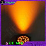 Mudar a PARIDADE do diodo emissor de luz do DJ 18X12W RGBW do estágio da cor DMX