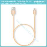Micro cabo de dados cobrando rápido do USB para o telefone do Android de Samsung