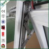 Toldo alemão Windows de vidro da vitrificação dobro de Veka UPVC com padrões australianos