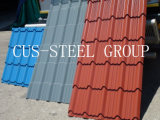 Recouvrement de toit de fer ondulé/feuilles de toiture effet de tuile