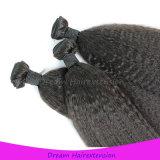 Heißes verkaufendes verworrenes gerades Menschenhaar-brasilianisches Jungfrau-Haar