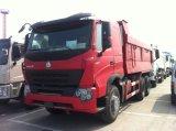 Caminhão de descarregador de HOWO A7 6X4 com a caixa da descarga de Volvo