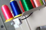 판매를 위한 1200년 Spm 높은 능률적인 자수 기계를 가진 12/15대의 색깔 컴퓨터 단 하나 맨 위 Cap& Flat&T 셔츠 자수 기계