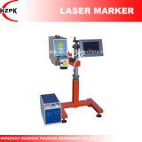 Producto-Línea tipo máquina de Hzlf -20 de la marca de la etiqueta de plástico del laser de la fibra de China