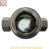 Vidrio de vista del indicador de la corriente de la instalación de tuberías de Tianhe