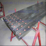 Zr / Zirconium Clad Copper Anode Bus Bar pour galvanoplastie