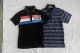 Limpar a roupa usada t-shirt misturada roupa dos homens da segunda mão