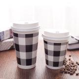 二重壁ペーパーコーヒーカップ8oz