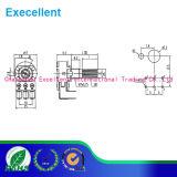Potenziometri rotativi, 16mm rotativo senza interruttore, RoHS Direttivo-Compiacente