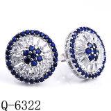 Ювелирные изделия CZ Rarrings. серебряного венчания ювелирных изделий 925 способа