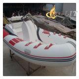 Rippen-Boot mit Aluminiumunterseite