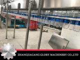 Máquina de rellenar del embotellamiento de agua de soda de la botella de cristal