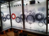 Grafici della pellicola della finestra glassati alta qualità all'ingrosso per la decorazione