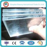 vidro ultra desobstruído do vidro de 3.2-19mm/edifício com certificado de ISO/Ce