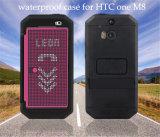 Caja del filtro impermeable del teléfono celular de la promoción para HTC M7 M8