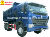 De Vrachtwagen van de Kipper van de Vrachtwagen van de Stortplaats van Sinotruk HOWO A7 371HP 6X4