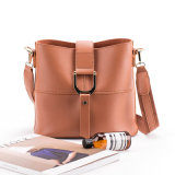 Saco da cubeta, bolsa da forma, saco de ombro, bolsa européia do estilo, plutônio