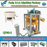 Macchina per fabbricare i mattoni concreta, macchina di collegamento del mattone di marca del blocchetto famoso della cavità