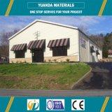 Almacén de la estructura de acero/estructura de acero pre fabricada/edificio de acero del almacén