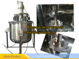 el tanque de mezcla del acero inoxidable 500L con las láminas de la dispersión