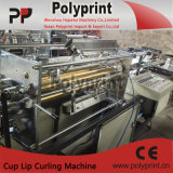 Wegwerfwasser-Cup-Lippenfelgen-kräuselnmaschine (PP-120)