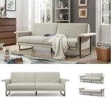 Base de sofá gris clara nórdica moderna de la tela para los muebles caseros (HC154)