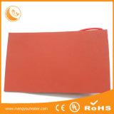 Certificado 4inch do Ce por 5inch, 120V, calefator flexível da folha da borracha de silicone 125W