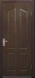 Tür-Haut der schwarze Walnuss-Furnier-Blattform-HDF (HDF Türhaut)