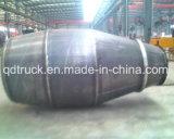 El tanque del mezclador de cemento del embalaje 9m3 del envase