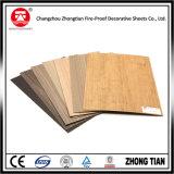 Stratifié en bois du placage HPL de couleur