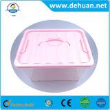 Fournisseur de cadre de mémoire/de coffre/de conteneur en plastique multiples avec le traitement pour le tissu/jouets