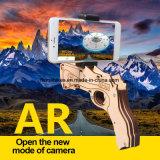 La nuova Bluetooth AR pistola AR di legno del giocattolo del gioco di 2017 spara