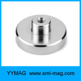 Starker NdFeB Neodym-Holding-Potenziometer-Magnet mit internem Gewinde/Innengewinde
