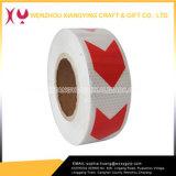 高輝度蜂蜜の櫛のタイプ矢PVC反射テープ