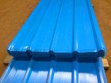El color de PPGI prepintó bobinas de acero galvanizadas/las hojas del material para techos acanalado
